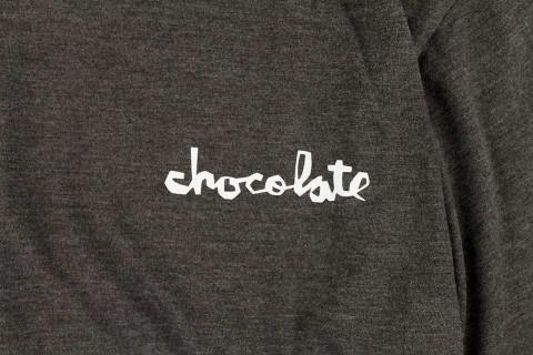 Chocolate スケボー スケートボード スケーターファッション Tシャツ トライブレンド チャンク ブラウン 02