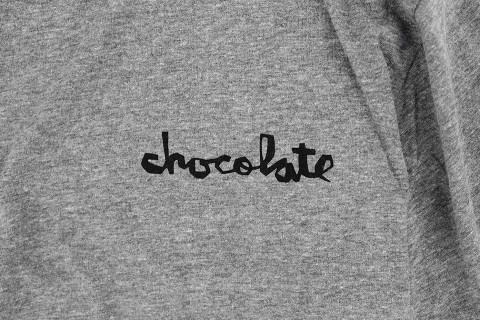 Chocolate スケボー スケートボード スケーターファッション Tシャツ トライブレンド チャンク グレー 02