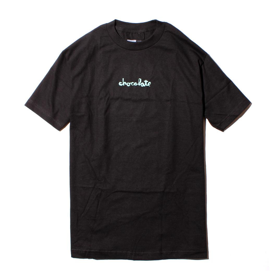 スケーター ファッション CHOCOLATE MID CHUNK Tシャツ ブラック
