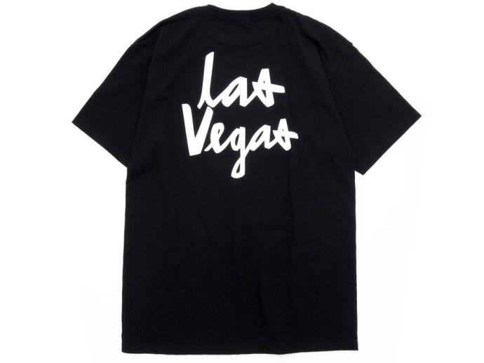 Chocolate CITY CHUNK Tシャツ ブラック Las Vegas ラスベガス 後ろ
