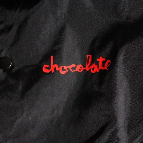 Chocolate コーチジャケット ブラック