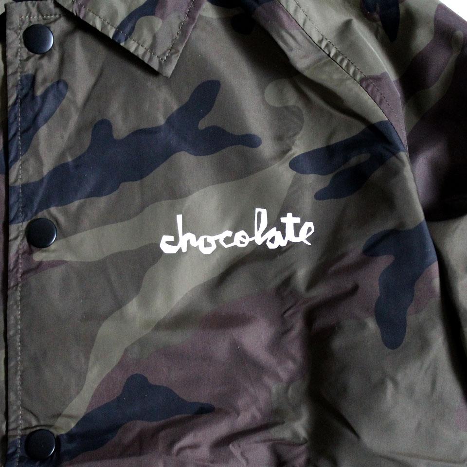 Chocolate コーチジャケット カモ