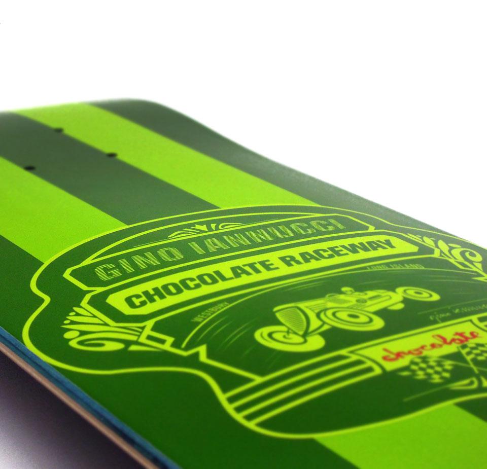 スケボー 初心者 通販 スケートボード Chocolate LONG ISLAND RACEWAY Gino Iannucci チョコレート ジーノ・イアヌッチ シグネチャー