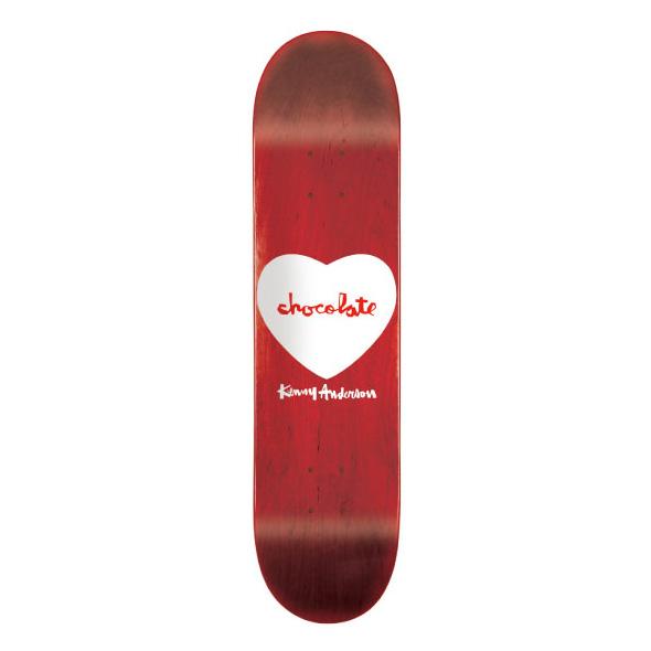 スケボー スケートボード デッキ 通販 Chocolate SKATEBOARD チョコレート Kenny Anderson ケニー アンダーソン Hearts ハーツ