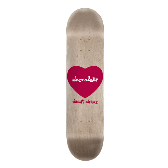 スケボー スケートボード デッキ 通販 Chocolate SKATEBOARD チョコレート Vincent Alvarez ビンセント アルバレス Hearts ハーツ