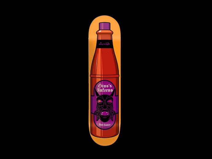 スケボー 通販 Chocolate チョコレート デッキ スケートボード ホットソース シリーズ ジーノ・イアヌッチ