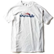 LAKAI CHOCOLATE CHUNK Tシャツ ホワイト
