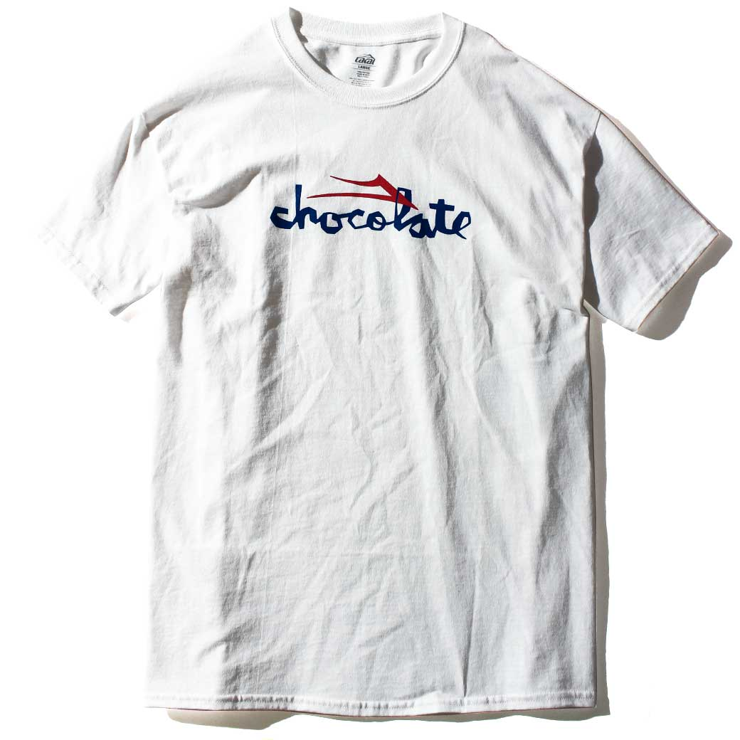LAKAI CHOCOLATE CHUNK Tシャツ ホワイト