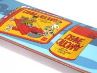 スケボー デッキ 通販 チョコレート Chocolate LUNCH BOX Devine Calloway グラフィック
