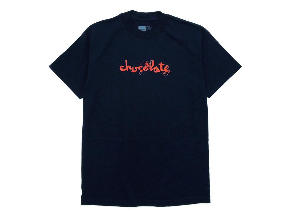 スケボー 通販 Tシャツ Chocolate チョコレート ZONBIE FLIP UP ゾンビ フリップ アップ ネイビー