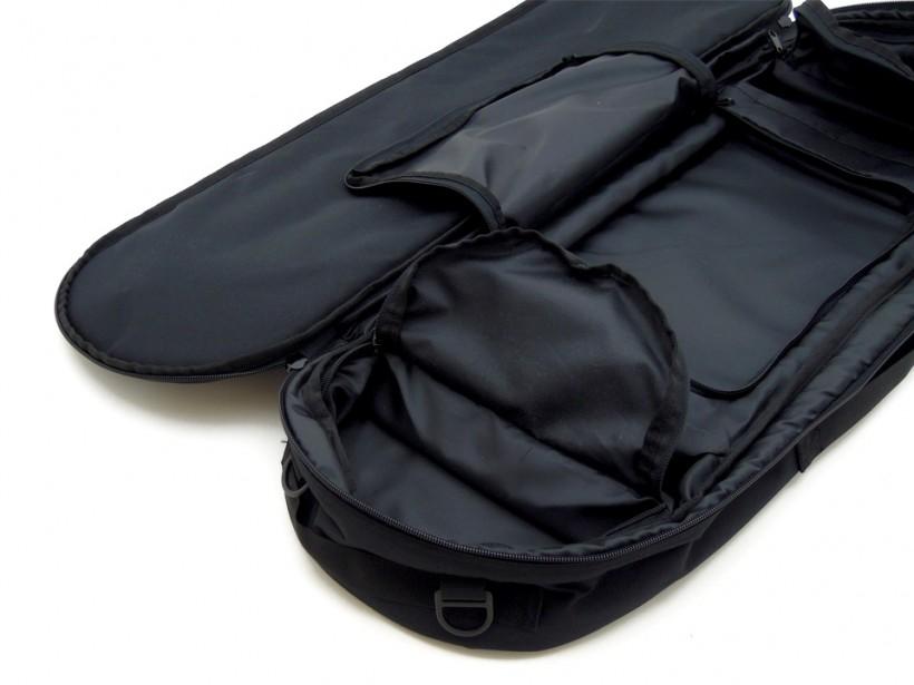 スケボー CPSL カプセル スケートボード収納バッグ 内側の収納2