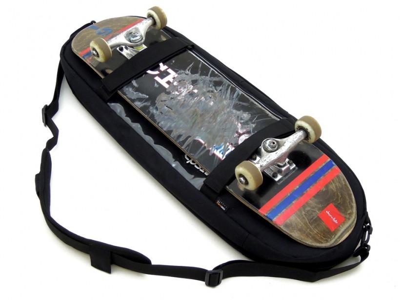 スケボー CPSL カプセル スケートボード収納バッグ デッキ取り付け可能2