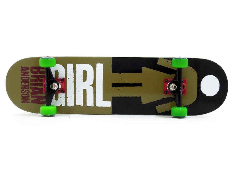 徳島県徳島市 Mさんのコンプリートデッキ スケボー 通販 GIRL デッキ スケートボード REAL BIG ブライアン・アンダーソン