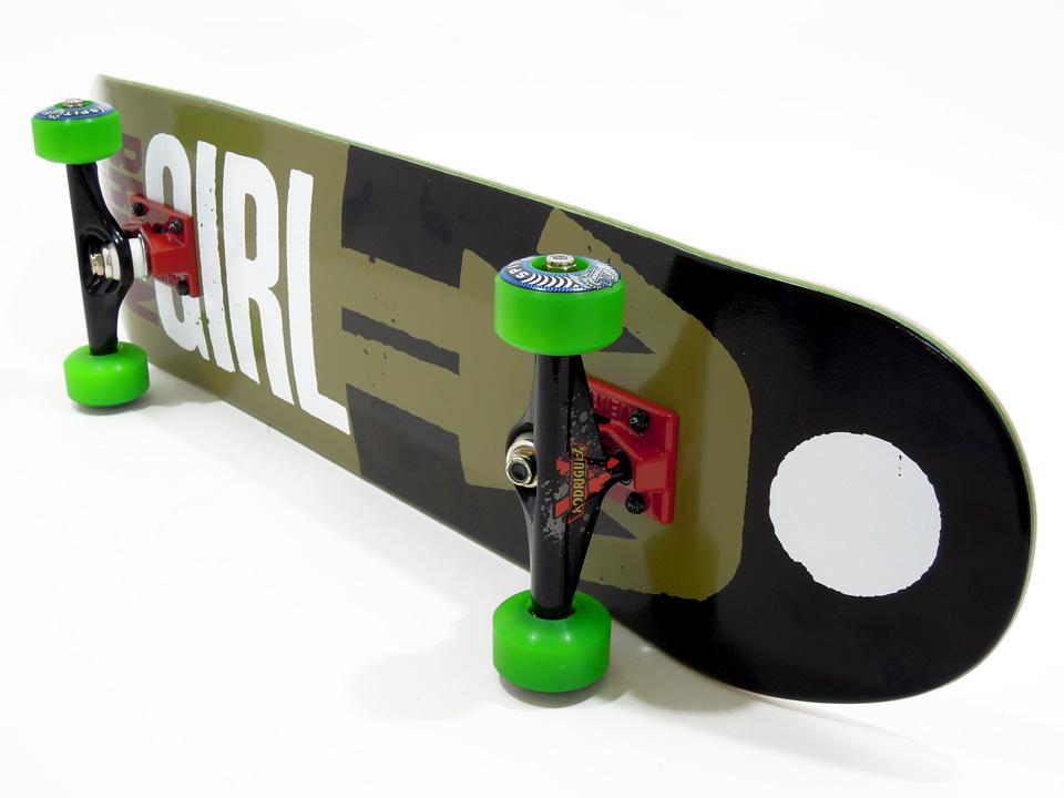 徳島県徳島市 Mさんのコンプリートデッキ 足回り スケボー 通販 GIRL デッキ スケートボード REAL BIG ブライアン・アンダーソン