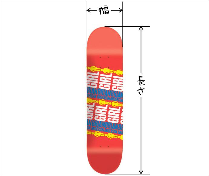 スケボー スケートボード 初心者 デッキ選び ポイント