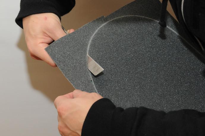 スケボー初心者のためのメンテナンスコーナー デッキテープの貼り方 15