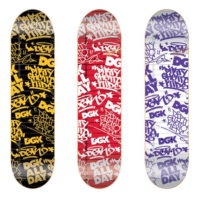 スケボー スケートボード 通販 DGK Skateboards Black Book DECK