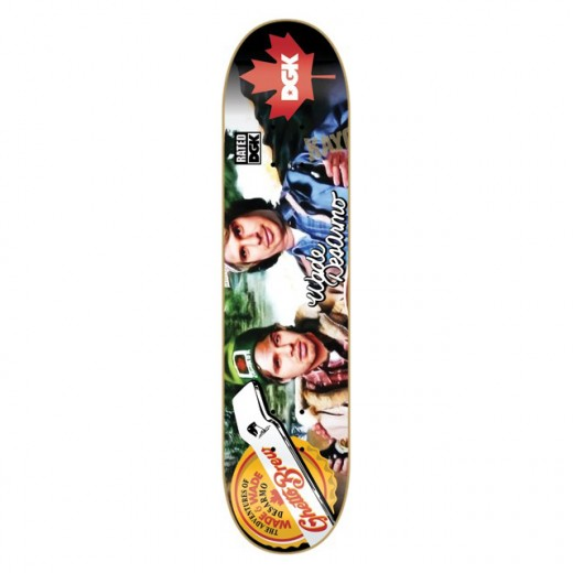 DGK Skateboards スケボー スケートボード デッキ 通販 Deck Wade Desarmo RATED
