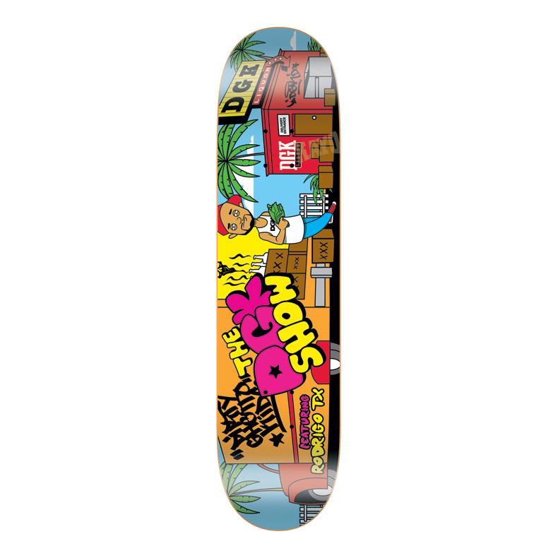 DGK Skateboards スケボー スケートボード デッキ 通販 Deck Rodrigo TX THE DGK SHOW