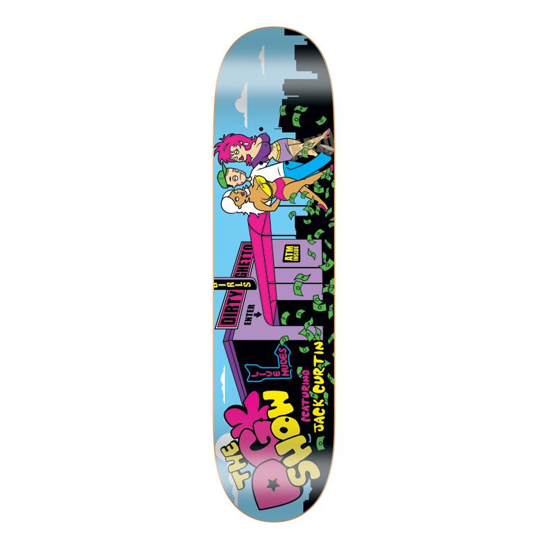 DGK Skateboards スケボー スケートボード デッキ 通販 Deck Jack Curtin THE DGK SHOW