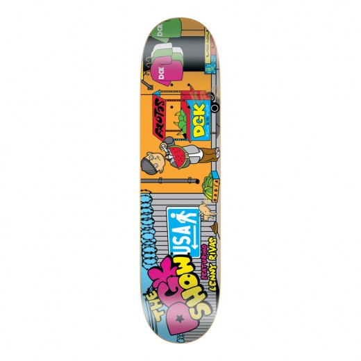 DGK Skateboards スケボー スケートボード デッキ 通販 Deck Lenny Rivas THE DGK SHOW