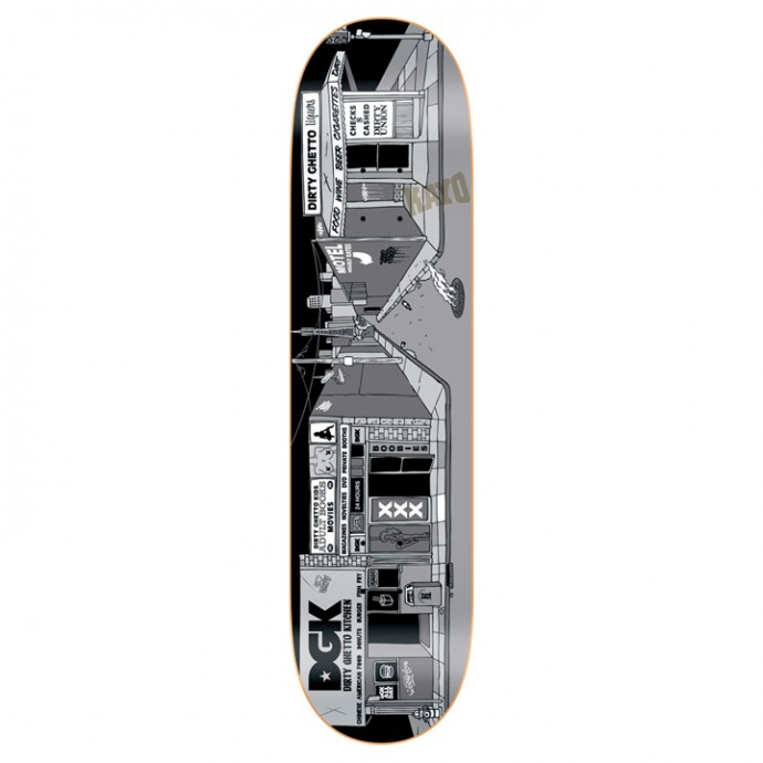 DGK GHETT-O-RAMA デッキ ステッカーセット ゲットーオーラマ スケボー 通販 スケートボード 01