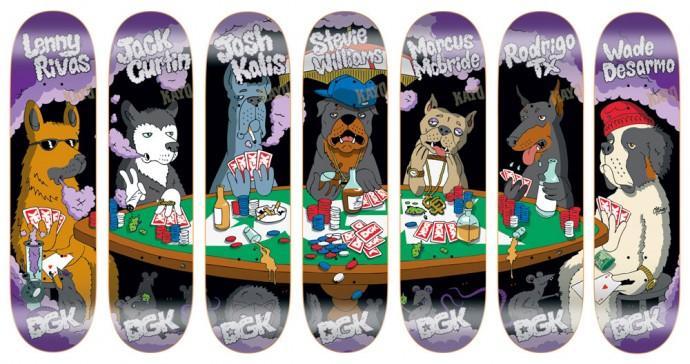 スケボー 通販 スケートボード デッキ DGK Skateboards PLAYA'S CLUB