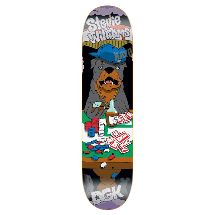 スケボー 通販 スケートボード デッキ DGK Skateboards PLAYA'S CLUB Stevie Williams