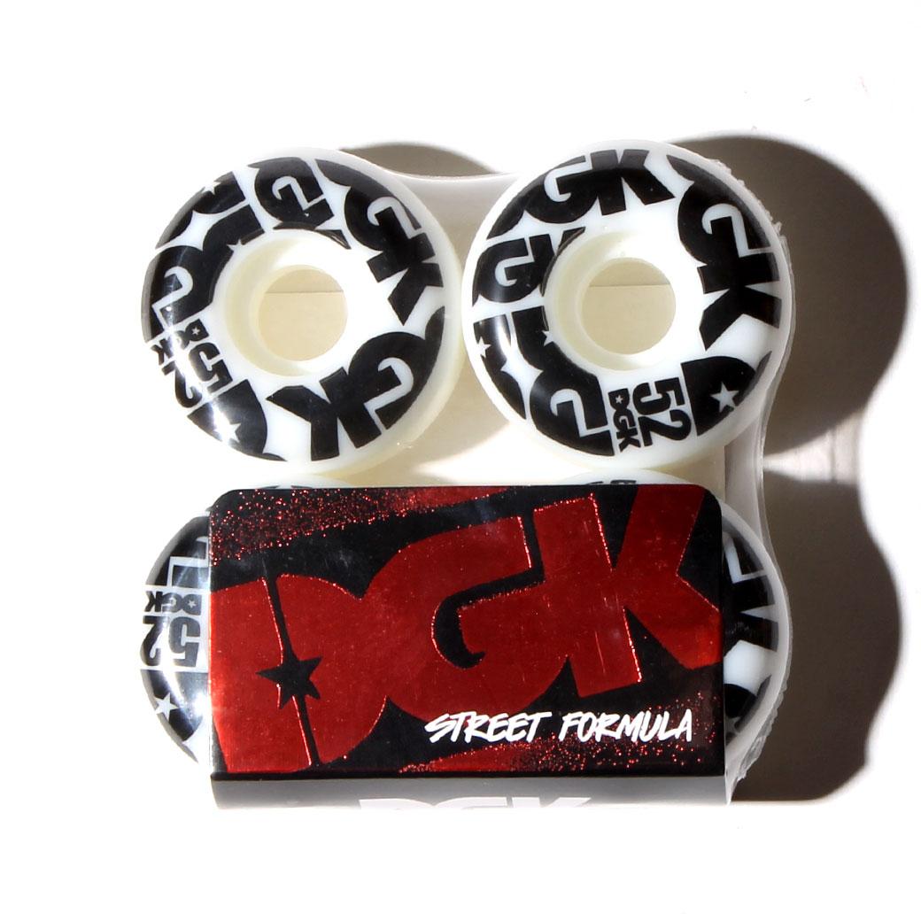 DGK プライスポイントデッキ ウィール セット