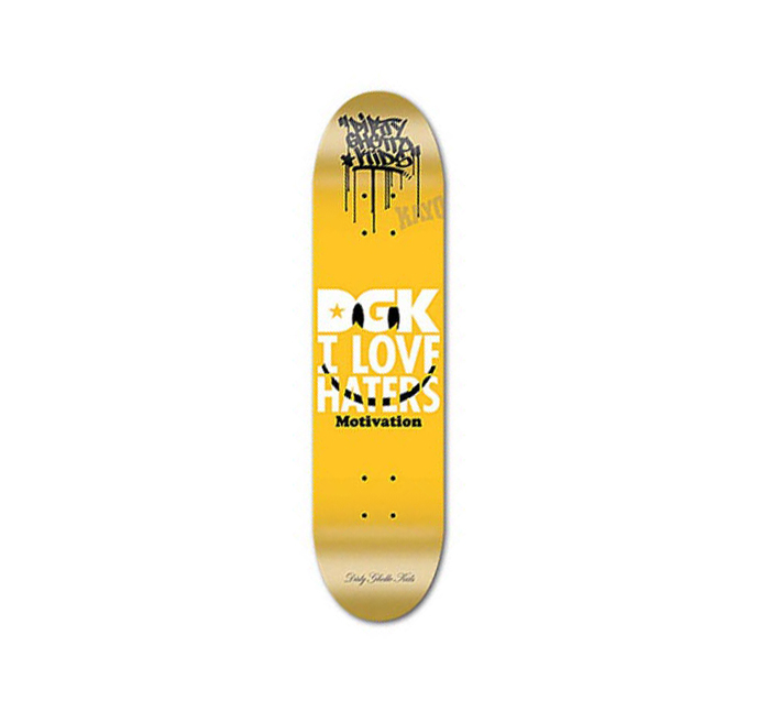 スケボー 通販 スケートボード デッキ DGK SMILEY YELLOW