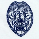 DGK Skateboards Fuck The Police T-Shirt 03