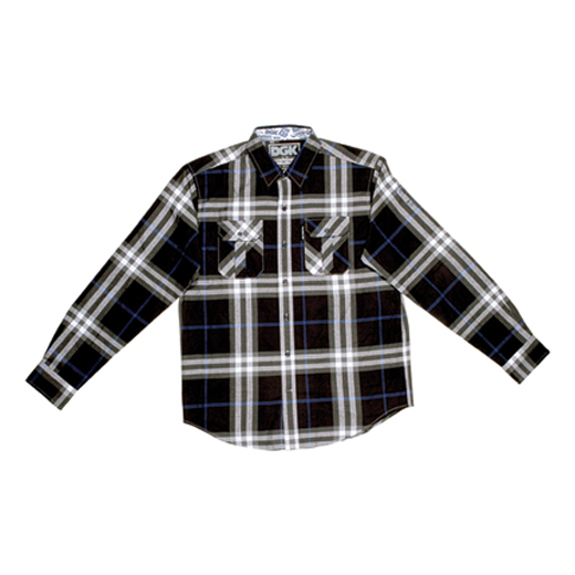 DGK Skateboards スケボー スケートボード 通販 From Nothing Plaid Flannel Black