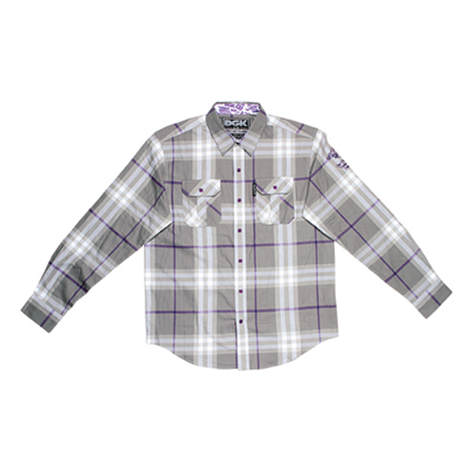 DGK Skateboards スケボー スケートボード 通販 From Nothing Plaid Flannel Grey