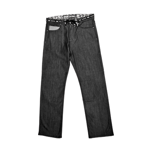 DGK Skateboards スケボー スケートボード 通販 ALL DAY JEAN Straight Fit Black