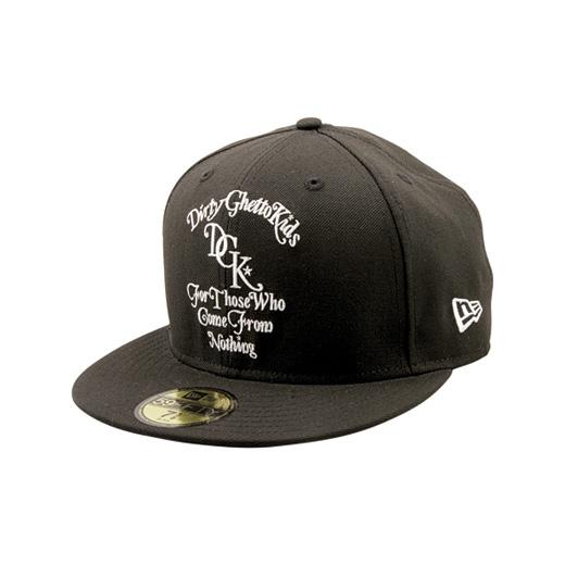DGK Skateboards スケボー スケートボード キャップ 通販 From Nothing New Era Cap Black