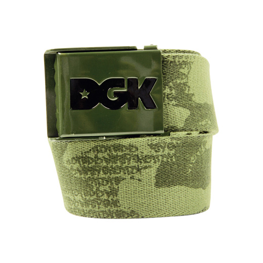 DGK Skateboards スケボー スケートボード 通販 Ammo Scout Belt Army