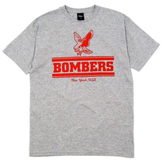 Dave's Quality Meat. DQM スケボー スケートボード Tシャツ 通販 BOMBERS T-Shirt 01