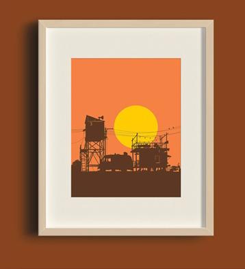 Evan HecoxSun Series Print