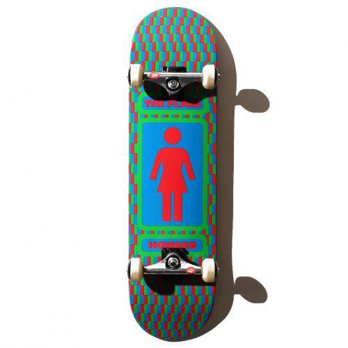 安定感が魅力!ストリートスケートを楽しみたい人におすすめのコンプリートデッキ GIRL リック・ハワード 8.25インチ
