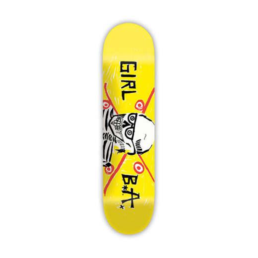 GIRL Skateboard Brian Anderson BA SKULL 01