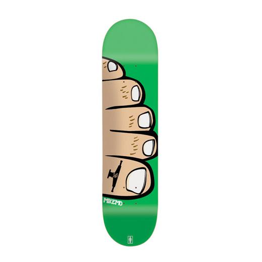 GIRL Skateboard Mike Mo Capaldi TOES 01