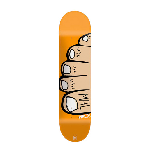 GIRL Skateboard Sean Malto TOES 01
