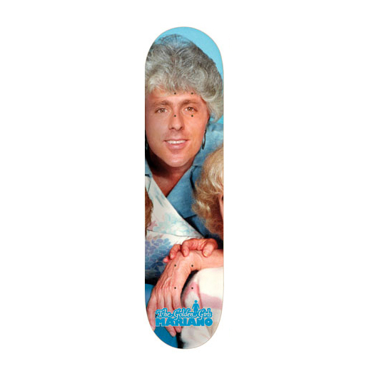 GIRL Skateboard Guy Mariano GOLDEN GIRLS 01