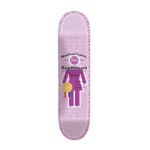 GIRL スケボー スケートボード リック・ハワード DIPLOMAS