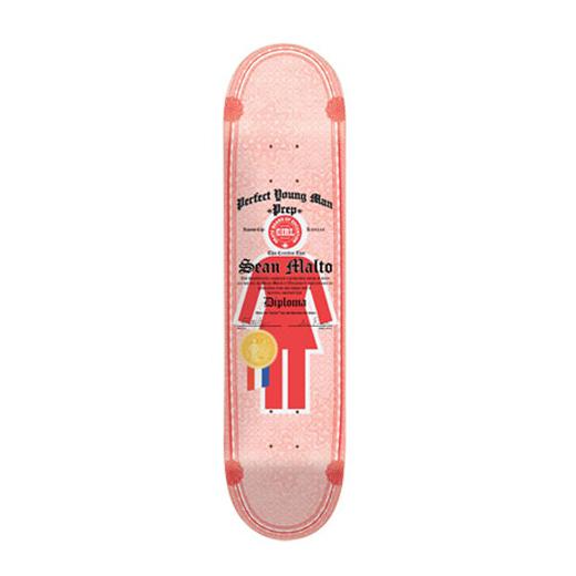 GIRL スケボー スケートボード ショーン・マルト DIPLOMAS