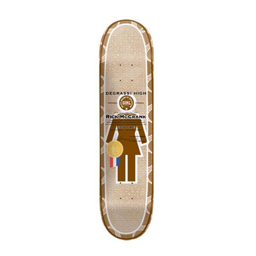 GIRL スケボー スケートボード リック・マクランク DIPLOMAS