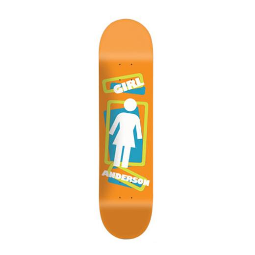 GIRL スケボー スケートボード ブライアン・アンダーソン SCRAMBLE OG