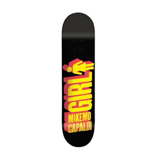 GIRL Skateboards スケボー スケートボード デッキ Mike Mo Capaldi BIG GIRL 3D 7.5