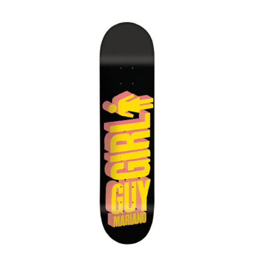 GIRL Skateboards スケボー スケートボード デッキ Guy Mariano BIG GIRL 3D