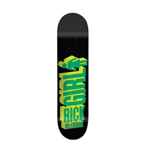 GIRL Skateboards スケボー スケートボード デッキ Rick McCrank BIG GIRL 3D